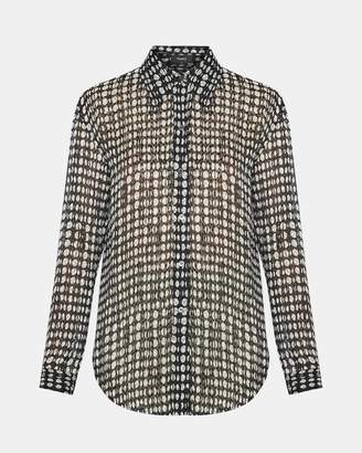 Theory Broken Oval Weekender Shirt