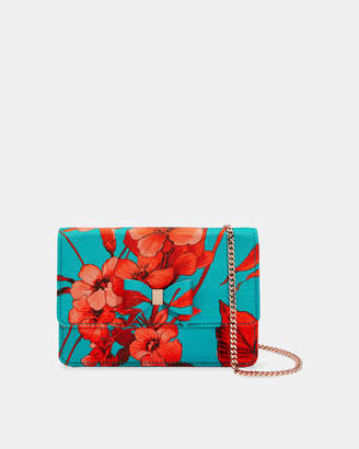 7fccf1c09678 Ted Baker KKATHY Printed micro evening bag