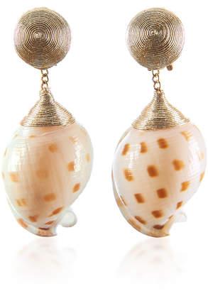 Ophelia Rebecca de Ravenel Gold Earrings