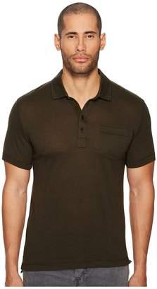 Billy Reid Short Sleeve Smith Polo