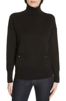 Kate Spade New York Haya Pocket Turtleneck Sweater