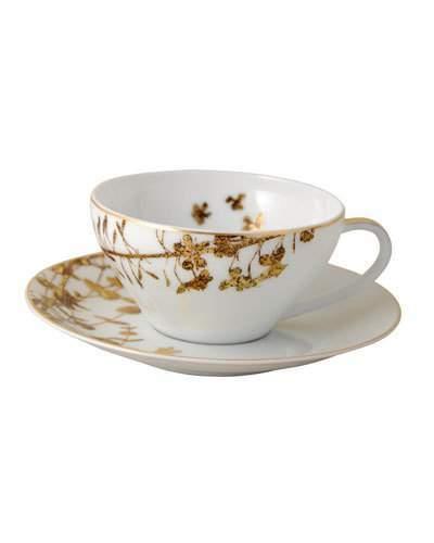 Bernardaud Vegetal Gold Teacup