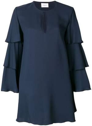 Dondup frill-sleeve shift dress