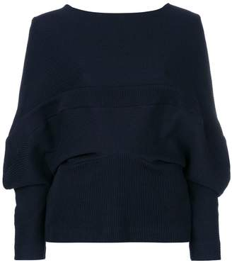 Chalayan band knit top
