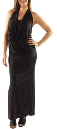 24/7 Comfort Apparel Women's Daring and Dazzling Maxi Dress