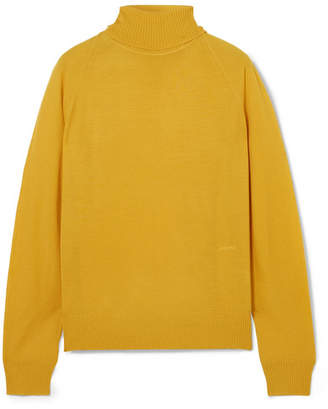 Joseph Merino Wool Turtleneck Sweater - Yellow