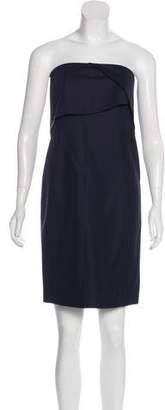 Cédric Charlier Strapless Mini Dress w/ Tags