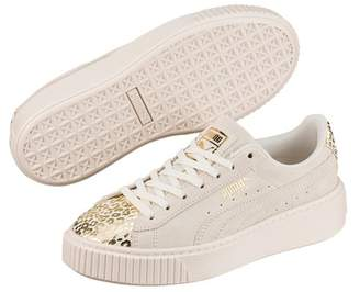 Puma Athluxe Suede Platform Sneaker (Little Kid   Big ... 6bc125cf2