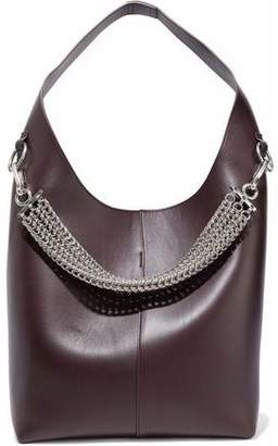 Alexander Wang Genesis Chain-Embellished Leather Shoulder Bag