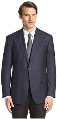 Franklin Tailored Men's Small Check Triton Sportcoat