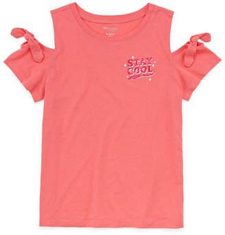 Arizona Cold Shoulder Graphic Tee - Girls' 4-16 Plus