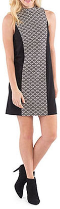 Kensie Scale Brocade Sleeveless Shift  Dress $89 thestylecure.com