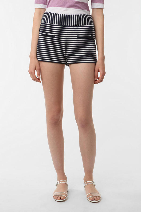 Lucca Couture Striped Knit Short