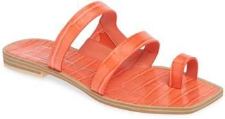Dolce Vita Isala 3 Croc Textured Slide Sandal