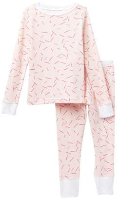 DKNY Confetti Pajamas (Toddler Girls)