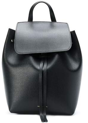 Mansur Gavriel Saffiano mini backpack