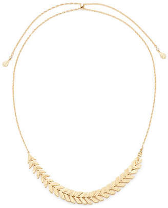 Kate Spade A New Leaf Slider Necklace