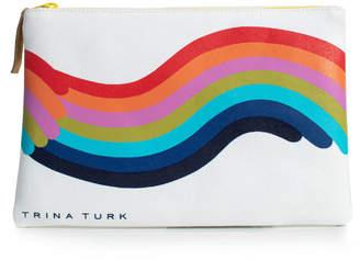 Trina Turk RAINBOW ZIP POUCH