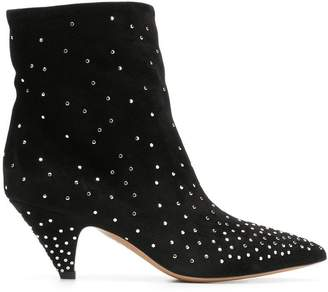 Valentino Micro Stud ankle boots