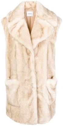 Dondup faux fur vest
