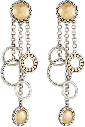 John Hardy Palu Bulan Chandelier Earrings