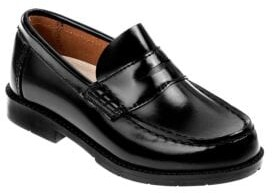 Academie Boy's Gear Josh Leather Penny Loafers