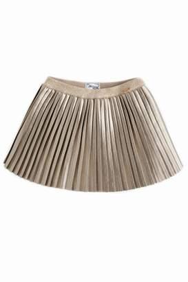 Mayoral Metallic Pleated Skirt
