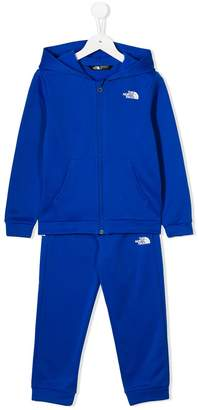 The North Face Kids logo print tracksuit