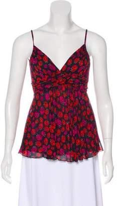 Diane von Furstenberg Birch Silk Top