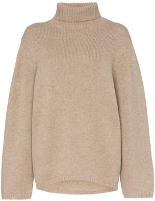 Totême カシミヤ タートルネックセーター