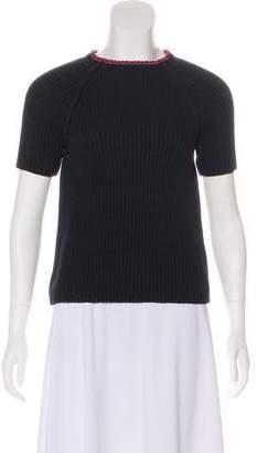Hermes Knit Short Sleeve Top