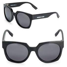 McQ 52MM Round Sunglasses