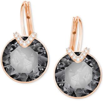 Swarovski Crystal & Pave Drop Earrings