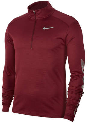 Nike Mens Long Sleeve Quarter-Zip Pullover