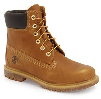 Women's Timberland '6 Inch Premium' Waterproof Boot $159.95 thestylecure.com