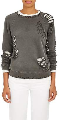 NSF Women's Saguro Distressed Cotton Sweatshirt