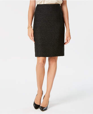 Kasper Knee-Length Pencil Skirt