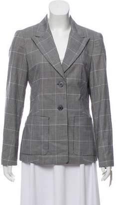 MICHAEL Michael Kors Wool Houndstooth Blazer w/ Tags