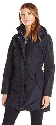 Maison Scotch Women's Cool Parka Jacket with Detachable Hoody Coat
