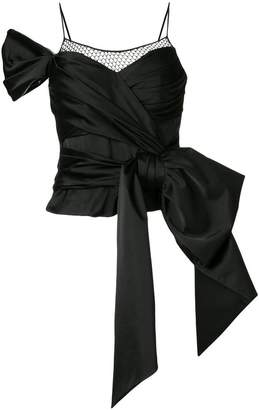 Moschino bow detail top