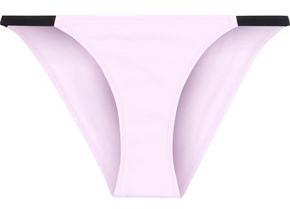 Solid & Striped The Morgan Two-tone Low-rise Bikini Briefs