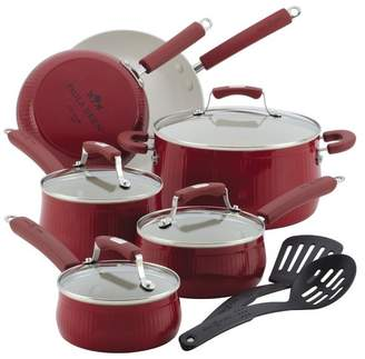 Paula Deen Savannah Collection Aluminum Nonstick 12-Piece Cookware Set