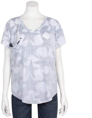 Grayson Threads Juniors' Relaxed Star Graphic Tee