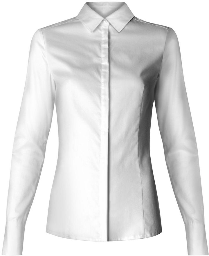 Women's Mango Button down shirt