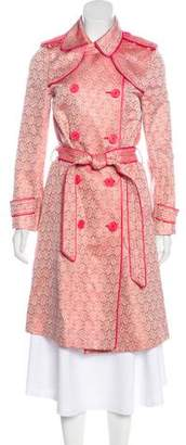 Marc by Marc Jacobs Brocade Trench Coat