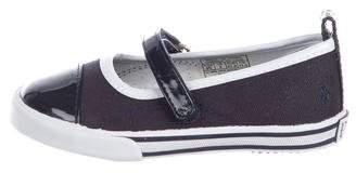 Polo Ralph Lauren Girls' Canvas Tonisha Shoes w/ Tags