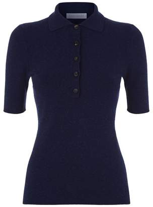 Victoria Beckham Knitted Polo Shirt