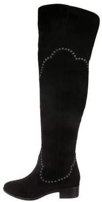 Frye Suede Knee-High Boots w/ Tags