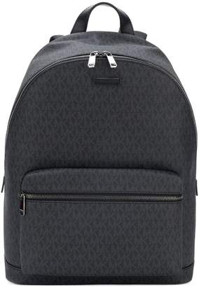 Michael Kors streamlined logo backpack