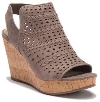 Fergalicious Kortey Platform Wedge Sandal